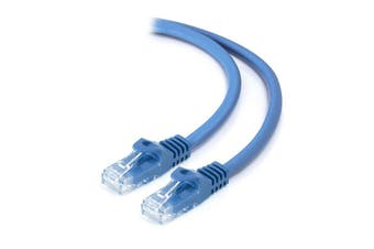 Alogic 1m Blue CAT6 network Cable C6-01-BLUE - C6-01-Blue