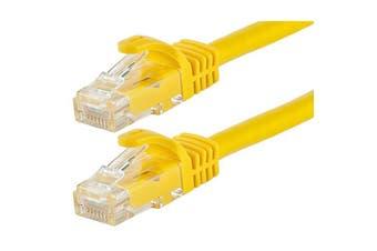 Astrotek CAT6 Cable 20m - Yellow Color Premium RJ45 Ethernet Network LAN - AT-RJ45YELU6-20M