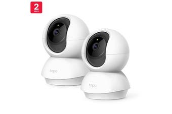 TP-Link 2-pack Pan/Tilt 1080p Security Camera FHD Works Smart Home - Tapo C200