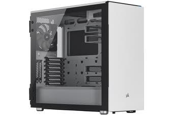 Corsair Carbide Series 678C Low Noise Tempered Glass E-ATX Computer Case - White - CC-9011170-WW