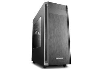 DeepCool D-Shield V2 ATX Mid Tower PC Case Black Houses VGA Card Up To 370mm - DP-ATX-DSHIELD-V2