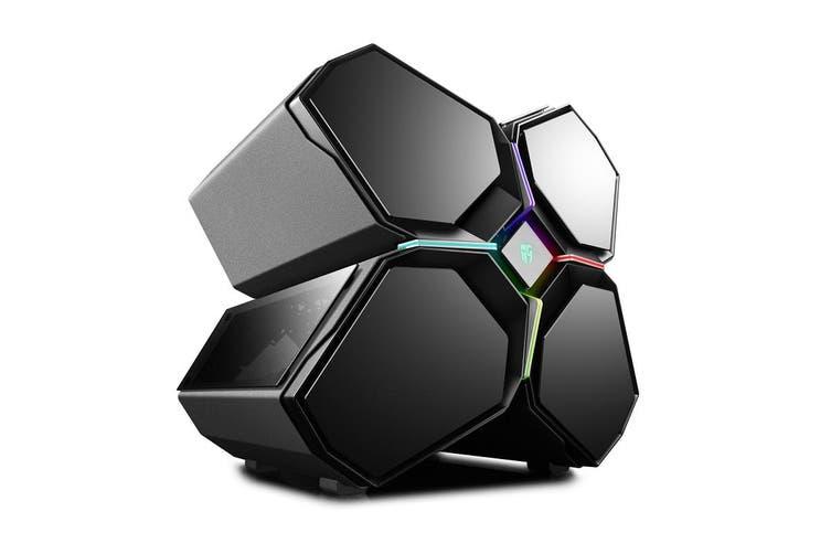 DeepCool Gamerstorm Quadstellar Smart PC Case Gamer Full-Tower E-ATX Four Cabin - DP-EATX-QUADSTLR