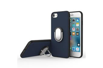 Rock Genuine Kickstand Magnetic Suction Ring Holder Case M1 For iPhone 7/7 Plus[Blue,IPHONE 7 PLUS] - RHC-M1-I7-BR