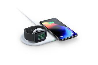 Alogic Rapid Wireless Charging Dock for Apple Watch & iPhone 5W/ 7.5W/ 10W Qi - QC10AWRDWH