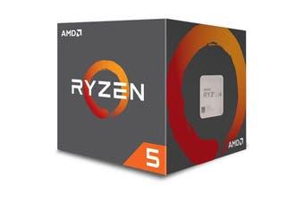 AMD Ryzen 5 2600 CPU 3.9GHz AM4 with RX Vega Graphics Wraith Stealth CPU Cooler - YD2600BBAFBOX