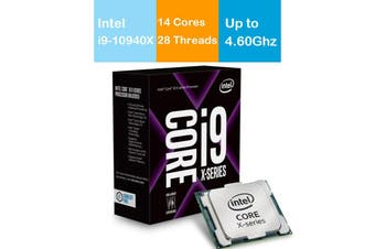 Intel Core i9 10940X CPU 3.3GHz/4.6GHz Turbo LGA2066 X Series 10th Gen Processor - BX8069510940X