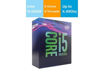 Intel Core i5 9500F 3.0GHz/4.4GHz LGA1151 9th Gen 6 Cores 6 Threads Processor - BX80684I59500F