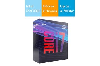 Intel Core i7 9700F 3.0GHz/4.7GHz LGA1151 9th Gen 8 Cores 8 Threads Processor - BX80684I79700F