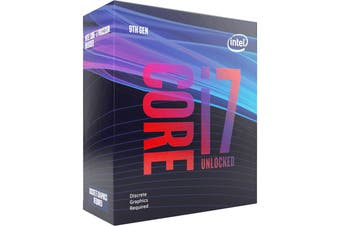 Intel Core i7-9700KF 3.6Ghz LGA 1151 Coffee Lake 9th Gen Unlocked Desktop CPU - BX80684I79700KF
