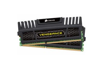 Corsair 16GB (2x8GB) DDR3 1600MHz Vengeance Black Memory RAM PC - CMZ16GX3M2A1600C9