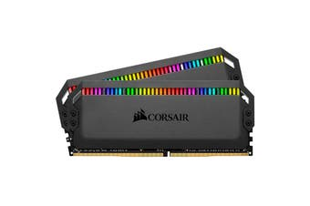 Corsair Dominator Platinum RGB 16GB (2 x 8GB) DDR4 DRAM 3000MHz C15 Memory Kit for Desktop PC - CMT16GX4M2C3000C15