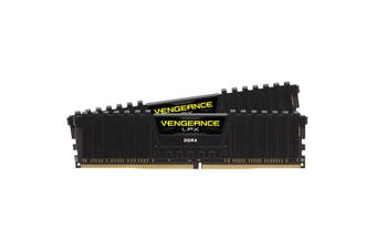 Corsair 16GB 2x 8GB Vengeance LPX DDR4 3200MHz C16 Desktop Gaming Memory Black - CMK16GX4M2E3200C16