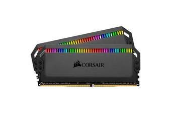 Corsair Dominator Platinum RGB 32GB (2x 16GB) DDR4 DRAM 3200MHz C16 Memory Kit for Desktop PC - CMT32GX4M2C3200C16