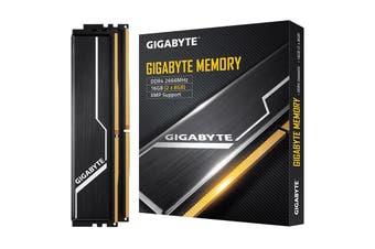 Gigabyte 16GB (2x8GB) Gaming Memory DDR4 2666MHz C16 1.2V XMP 2.0 PC Desktop RAM - GP-GR26C16S8K2HU416