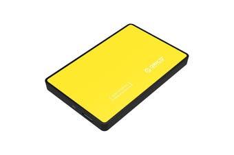 "Orico 2588US3 USB 3.0 External 2.5"" SATA HDD Hard Drive Enclosure Orange - 2588US3-OR"