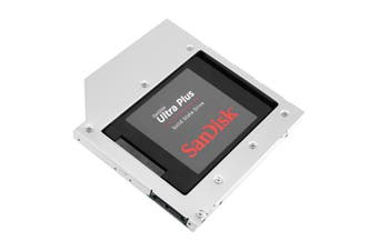 Orico Aluminium Laptop CD-ROM Bay Drive Bracket For 2.5 SATA Drives - L95SS-V1