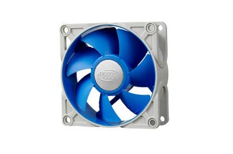 DeepCool Ultra Silent 80mm Ball Bearing Case Fan with Anti-Vibration Frame PWM - DP-FUF-UF80