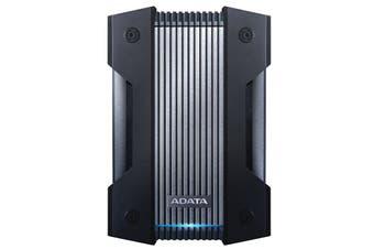 Adata 2TB HD830 External Hard Drive Disk Military-Grade Toughness HDD Black - AHD830-2TU31-CBK