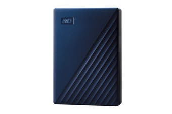 Western Digital WD 4TB My Passport for Mac USB 3.2 Gen 1 External Hard Drive - WDBA2F0040BBL-WESN