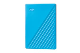 Western Digital WD 4TB Blue USB3.2 My Passport Portable External Hard Drive - WDBPKJ0040BBL-WESN
