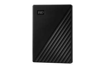Western Digital WD 5TB Black USB3.2 My Passport Portable External Hard Drive - WDBPKJ0050BBK-WESN
