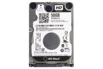 """Western Digital 500GB Black 7200 RPM 32MB SATA3 6.0Gb/s 2.5"""" HDD - WD5000LPLX"""