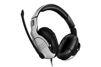 Roccat Khan PRO Competitive High Resolution Gaming Headset White Hi-Res Certified - ROC-14-621-AS