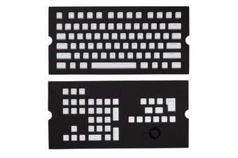 Corsair Gaming PBT Double-shot Keycaps Full 104/105-Keyset - White - CH-9000234-WW