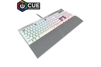 Corsair K70 RGB MK2 SE Cherry MX SPEED Mechanical Gaming Keyboard WHITE Keycaps - CH-9109114-NA