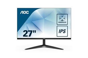 """AOC 27"""" LED LCD Gaming Computer Monitor FHD 1920x1080 IPS 16:9 HDMI VGA - 27B1H/75"""