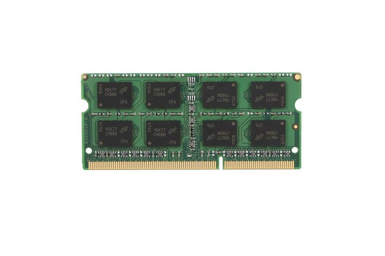 Crucial 4GB 1600MHz Dual Voltage DDR3 SODIMM DDR3-1600 1.35 / 1.5V - CT51264BF160B