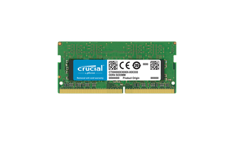 Crucial 16GB DDR4 RAM SO-DIMM DDR4 2400Mhz PC4-19200 Laptop Memory - CT16G4SFD824A