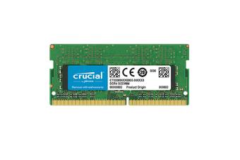 Crucial 4GB (1x4GB) DDR4 2400MHz SODIMM CL17 Memory Ram - CT4G4SFS824A