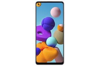 "Samsung Galaxy A21s 32GB White 6.5"" Infinity Display Quad Camera Smartphone - SM-A217FZWAXSA"