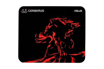 Asus Cerberus Mat Mini RED 2mm Ultra-Slim Gaming Mousepad Red 250x210x2mm - CERBERUS MAT MINI/RED