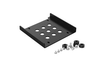 Orico 2.5 Inch to 3.5 Inch Aluminum Hard Drive Caddy for SSD HDD Black Color - AC325-1S