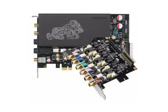 Asus ESTX-II Sound Card 7.1-channel Hi-Fi Headphone Amplifier TCXO Clock Source - ESTX II 7.1