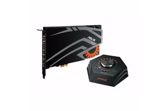 Asus STRIX RAID Pro 7.1 PCI-E Sound Card Gaming Audiophile DAC 116dB 24bit - STRIX RAID PRO