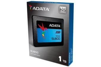 """Adata 1TB SSD SU800 2.5"""" SATA 560Mb/s 3D NAND TLC Internal Solid State Drive - ASU800SS-1TT-C"""