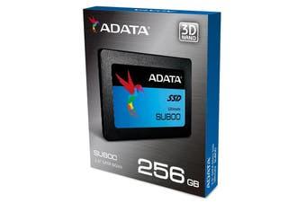 """Adata 256GB SSD SU800 2.5"""" SATA 6Gb/s Read 560Mb/s NAND 3D TLC -C - ASU800SS-256GT"""