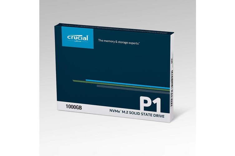 Crucial P1 1TB M.2 (2280) NVMe PCIe SSD3D NAND Internal Solid State Drive SSD - CT1000P1SSD8