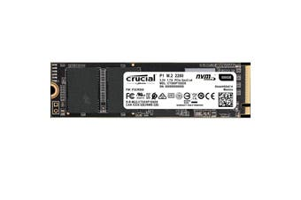 Crucial P1 500GB M.2 (2280) NVMe PCIe SSD3D NAND Internal Solid State Drive SSD - CT500P1SSD8