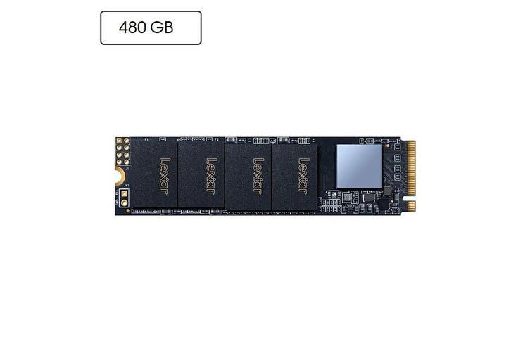 Lexar 480GB NM600 M.2 2280 NVMe PCIE SSD Solid State Drive 2100MB/1600MB R/W - LNM600-480RB