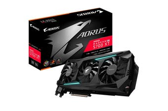 Gigabyte Aorus Radeon Navi RX 5700 XT 8GB GDDR6 PCIe Graphic Card 8K 7680x4320@6 - GV-R57XTAORUS-8GD