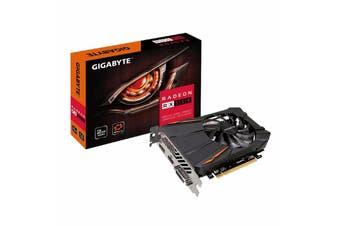 Gigabyte AMD Radeon RX550 OC 2GB DDR5 Video Card 8K DVI HDM DP Eyefinity FreeSync - GV-RX550D5-2GD