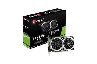 MSI 1740 MHz / 8 Gbps GDDR5 7680x4320 1xDP1.4 1xHDMI2.0 - GTX 1650 VENTUS XS 4G OC