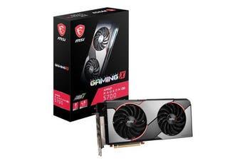 MSI RX 5700 Gaming X 8G GDDR6 PCIe 4.0 Graphics Card 7680x4320 4xDisplays 3xDP H - RX 5700 GAMING X