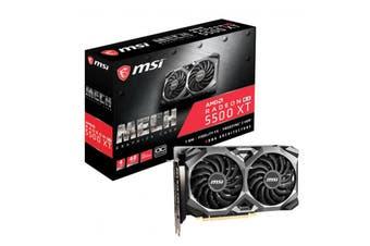 MSI RX 5500 XT Mech OC 4GB GDDR6 PCIe 4.0 Graphics Card 7680x4320 4xDisplays 3xD - RX 5500 XT MECH 4G OC