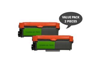BROTHER 2 x TN-2350 Premium Generic Toner Cartridge