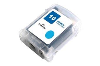 HP #10 Cyan Compatible Inkjet Cartridge